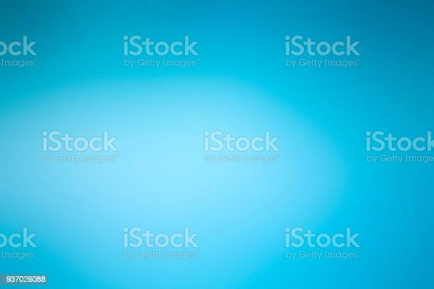 Photo of Abstract defocused blue soft background