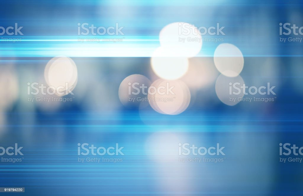 abstract defocused bokeh blurred photography gradient background of city lights at night stock photo