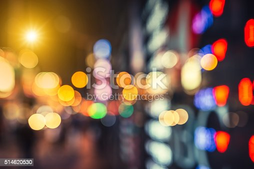 517687466istockphoto Abstract defocused street scene in Hongkong, China 514620530