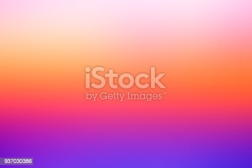 Abstract defocused vivid background: Dreamy  sunset colors.