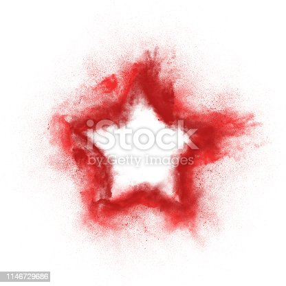 504797668 istock photo Abstract design of white powder explosion 1146729686