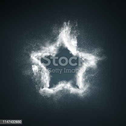 504797668 istock photo Abstract design of white powder explosion 1147432650