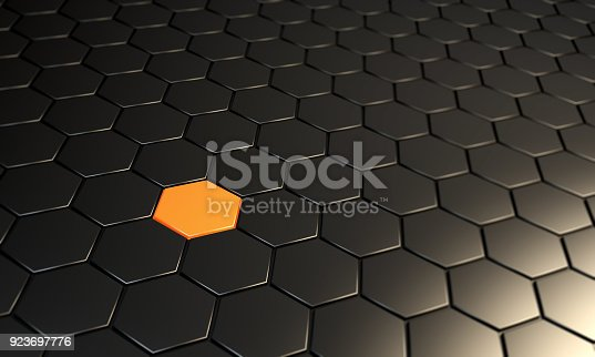 istock Abstract Difference Hexagonal Background 923697776