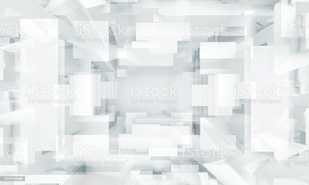 Abstract digital background, geometric pattern stock photo