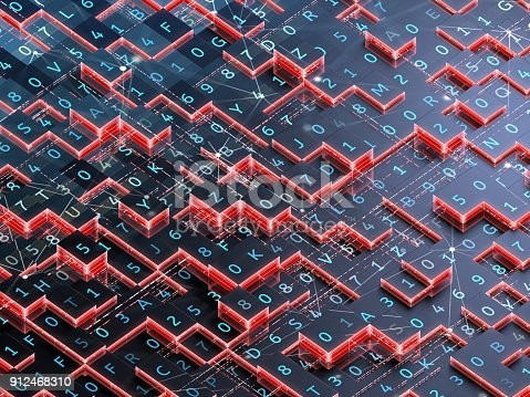 889994504istockphoto Abstract digital background. 912468310