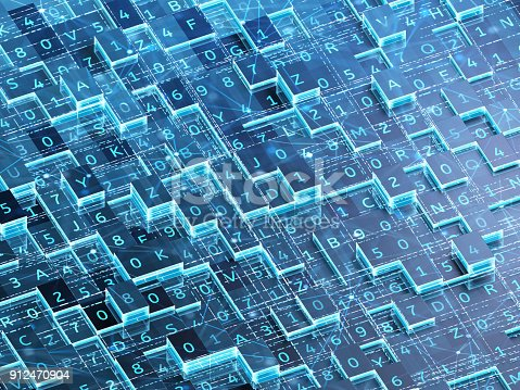 889994504istockphoto Abstract digital background. 912470904