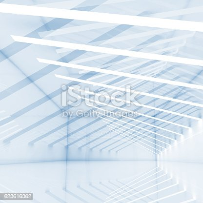 istock Abstract digital background with stripes 623616362