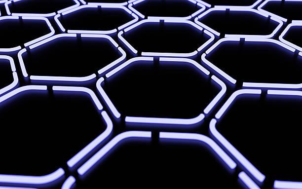 abstract digital colorful geometric background - tron sci fi bildbanksfoton och bilder
