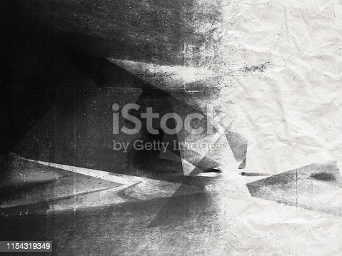 istock Abstract digital dark background 1154319349