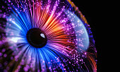 istock Abstract Digital Futuristic Eye 1322220448