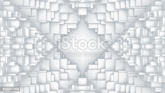 521223436istockphoto Abstract digital graphic cubes background 645081658