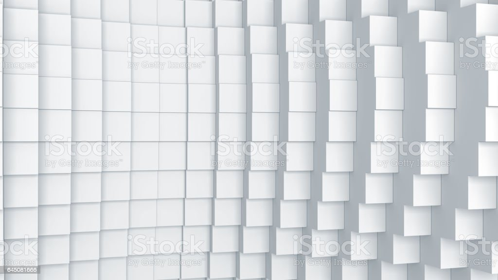 Abstract digital graphic cubes background stock photo