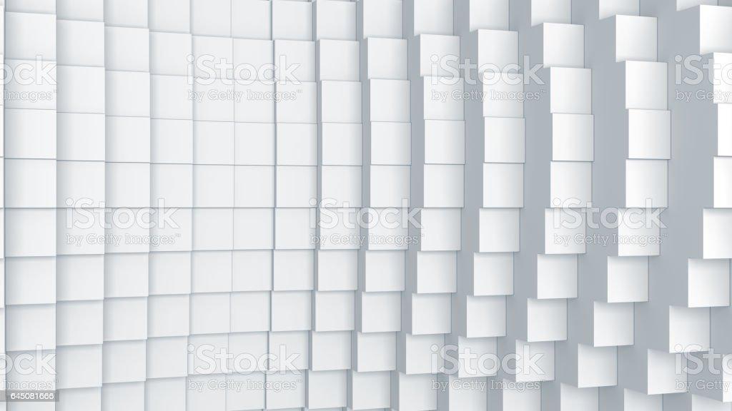 Fundo abstrato cubos gráfico digital - foto de acervo