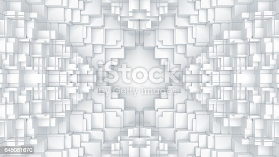 521223436istockphoto Abstract digital graphic cubes background 645081670
