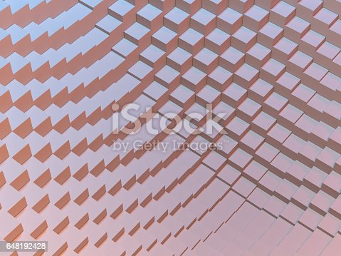 521223436istockphoto Abstract digital graphic cubes background 648192428