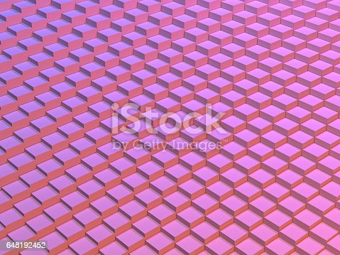 521223436istockphoto Abstract digital graphic cubes background 648192452