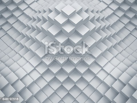 521223436istockphoto Abstract digital graphic cubes background 648192518