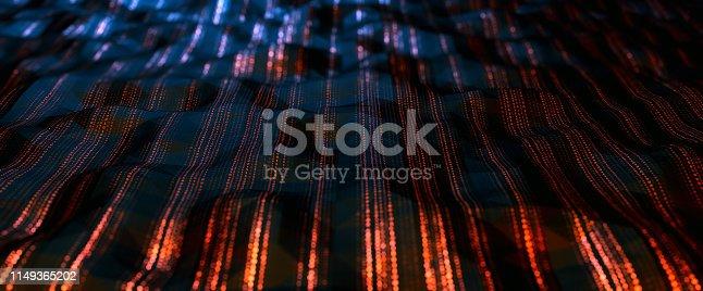 istock Abstract Digital network communication 1149365202