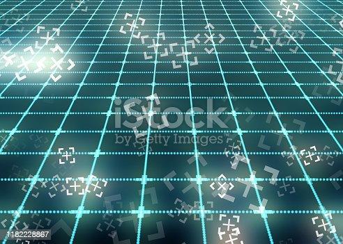 1017193718 istock photo Abstract Digital network communication 1182228867