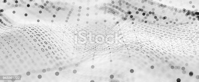 istock Abstract Digital network communication 943361722