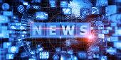 istock Abstract Digital News Concept 1290904409