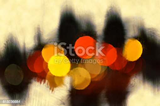 istock Abstract digital painting 513236684