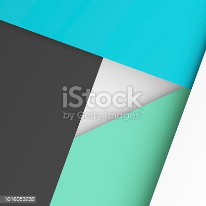 istock Abstract digital polygonal background 3 d 1016053232