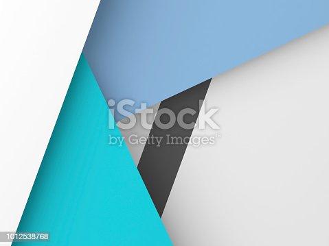 istock Abstract digital polygonal background 3d art 1012538768