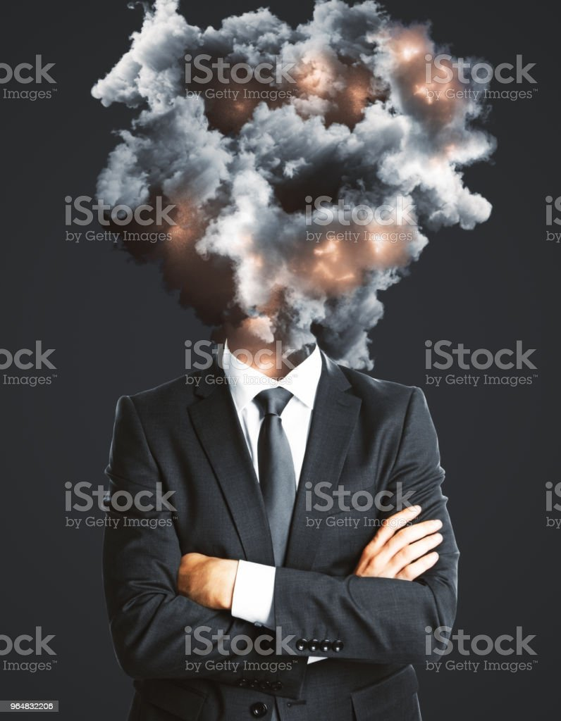 Abstract disaster and stress background royalty-free stock photo