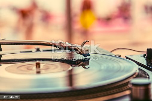 istock Abstract DJ background 962136972