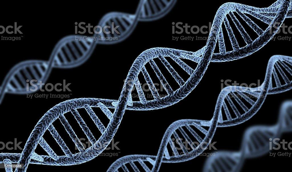 Abstract DNA royalty-free stock photo