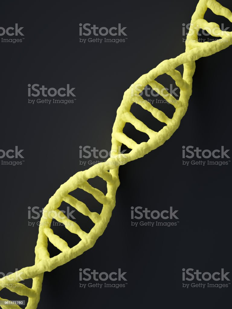 Abstrato de DNA foto royalty-free