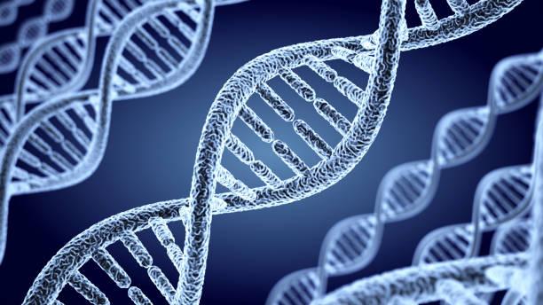 Abstrakte DNA Spirale – Foto