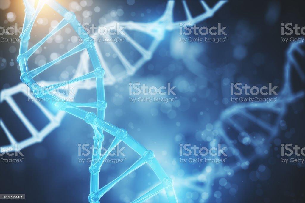 Textura de ADN abstracta foto de stock libre de derechos
