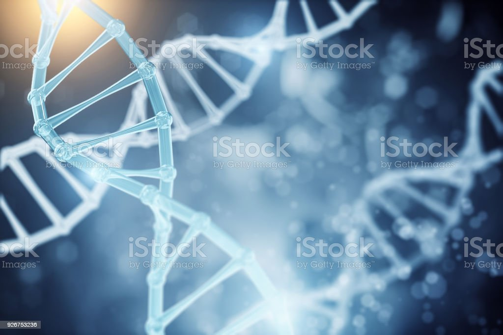 Abstrakte DNA-Tapete – Foto