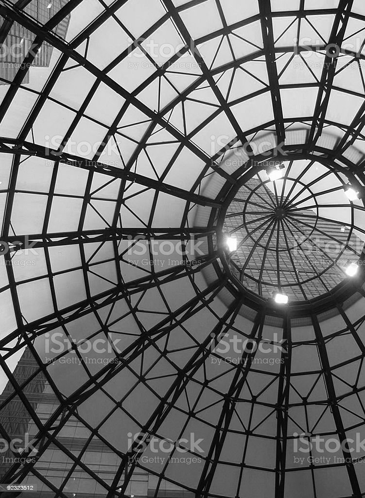 abstract dome royalty-free stock photo