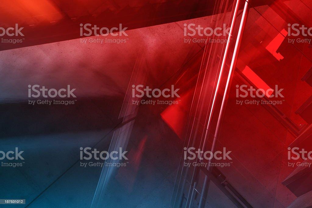 Abstract Dynamic Architecture stok fotoğrafı