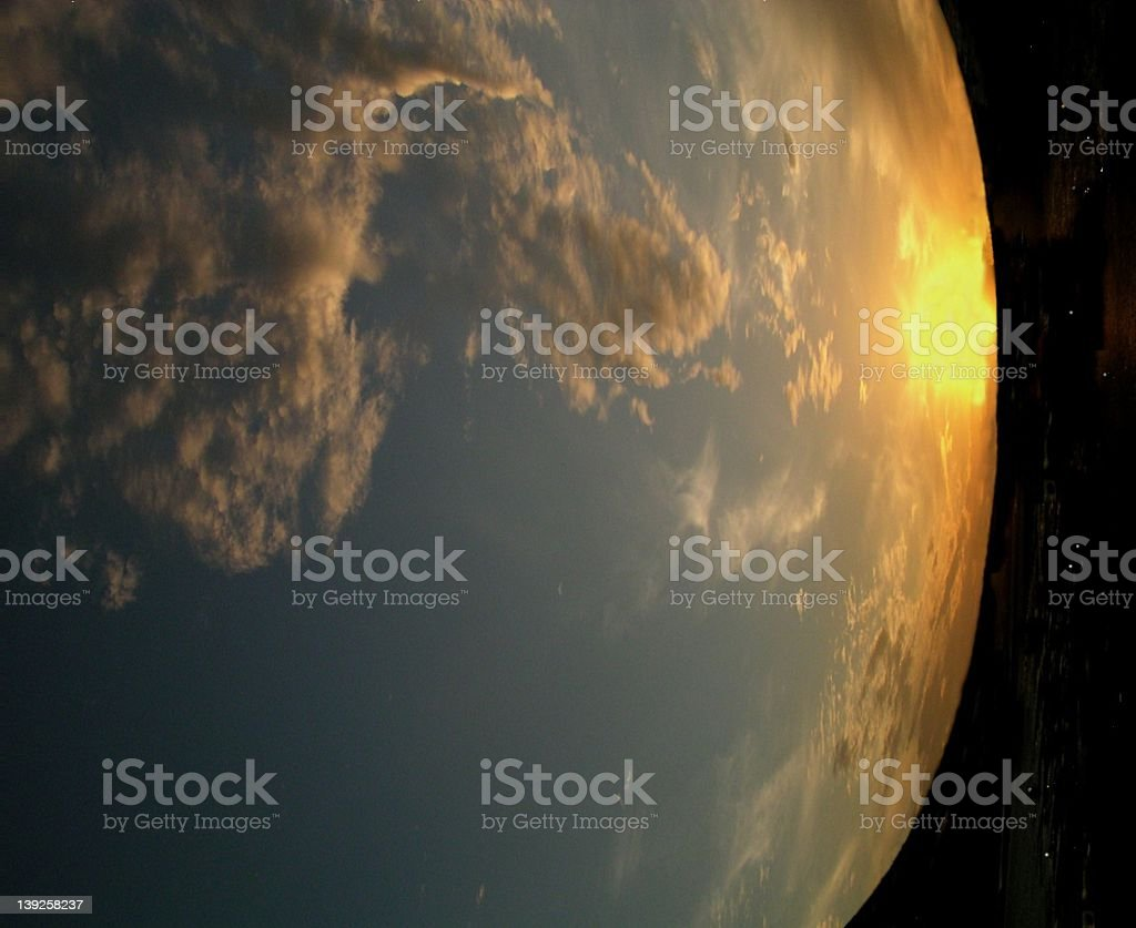 Abstract Earth royalty-free stock photo