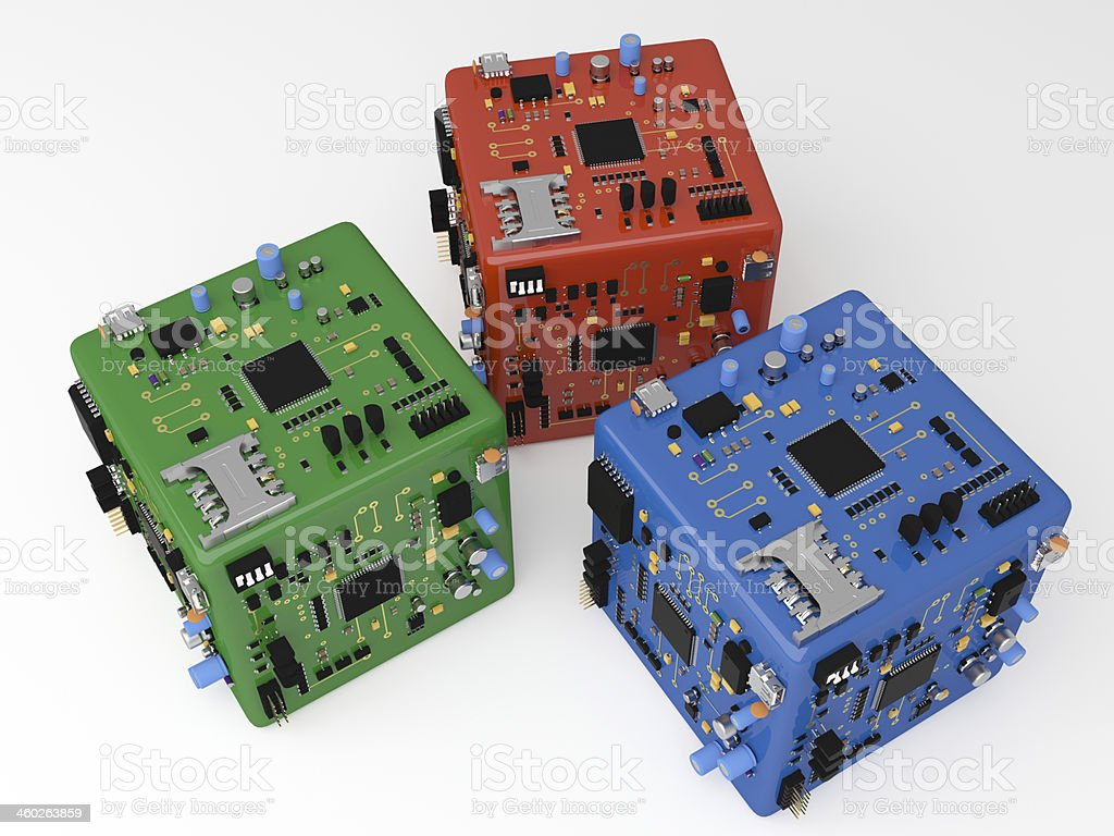 Abstract Electronic Hardware Pcb Box Stock Photo More Pictures Of Pics Photos Circuits Computers Components Technology Royalty Free