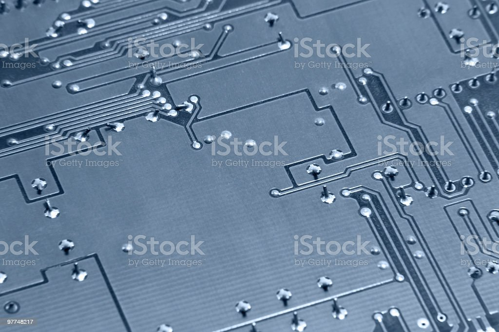 abstract electronics background royalty-free stock photo