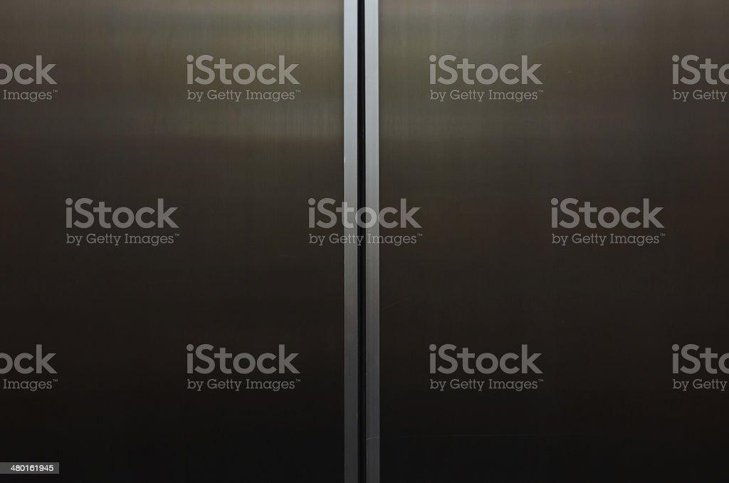 Fondo abstracto de puertas de ascensor - foto de stock
