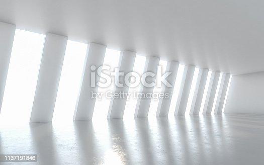 949309726 istock photo Abstract empty illuminated 1137191846