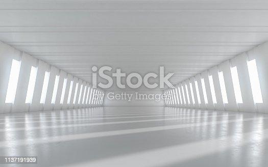 949309726 istock photo Abstract empty illuminated 1137191939