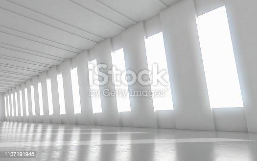 949309726 istock photo Abstract empty illuminated 1137191945