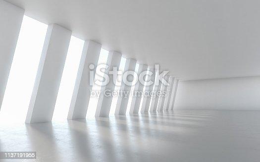 949309726 istock photo Abstract empty illuminated 1137191955