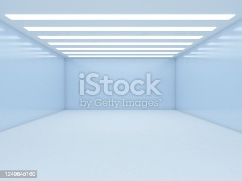 949309726 istock photo Abstract empty illuminated tunnel 1249645160