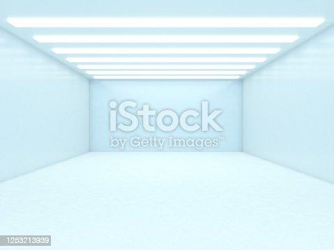 949309726 istock photo Abstract empty illuminated tunnel 1253213939