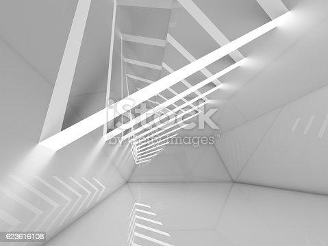 478919130istockphoto Abstract empty interior background 3d 623616108