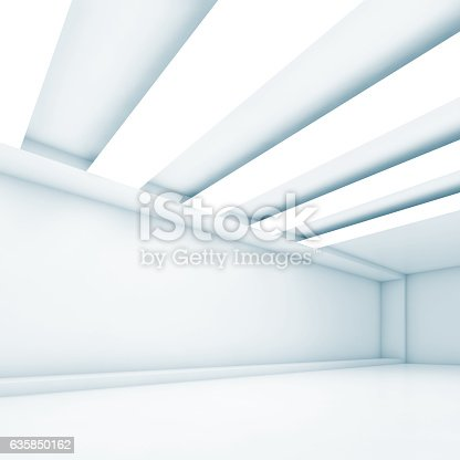 istock Abstract empty interior background 635850162