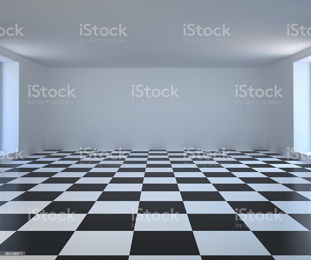 Abstract empty room royalty-free stock photo